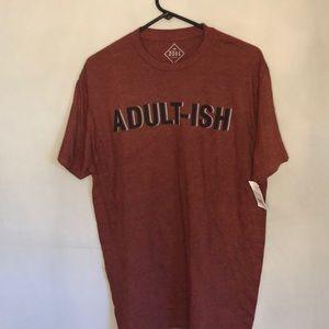 Graphic T-Shirt,  Adult-ish, Size Large